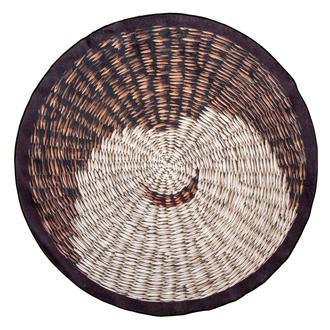 Giz Home Norma NR07 Yuvarlak Halı 120 cm - Siyah
