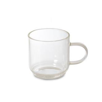 İpek 6'lı Borosilikat Cam Mini Kahve Fincanı - 120 Ml