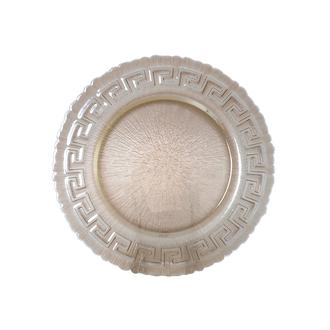 İpek Yuvarlak Supla - 32 cm /Füme