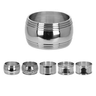 Excellent Houseware 4'lü Peçete Halkası - Silver