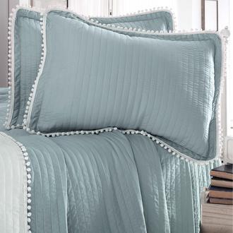 Evim Home Çift Kişilik Ponponlu Yatak Örtüsü Takımı