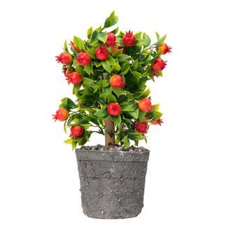 Mondecor Dekoratif Nar Ağacı Yapay Çiçek