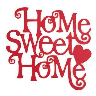Retro Time Home Sweet Home Ahşap Duvar Panosu