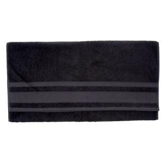 Nuvomon Basic Bordürlü Banyo Havlusu 70x140 cm- Antrasit