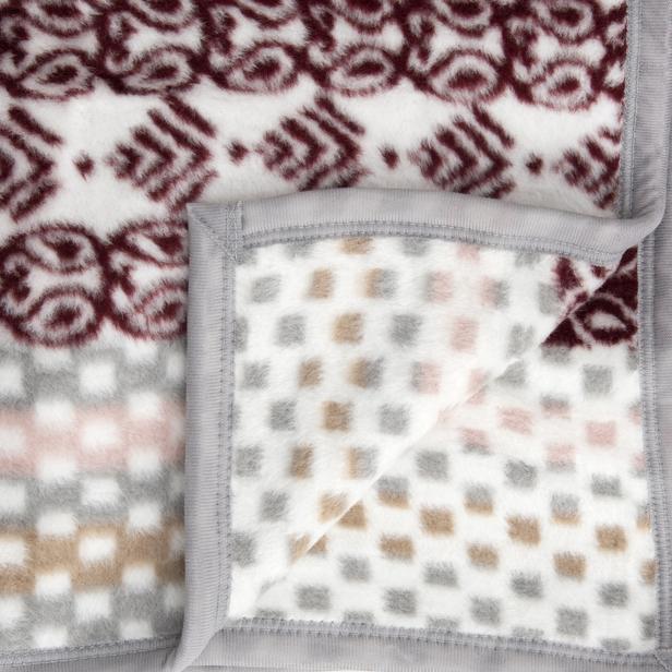 Sesli Softy 17133B Çift Kişilik Battaniye - 200x220 cm