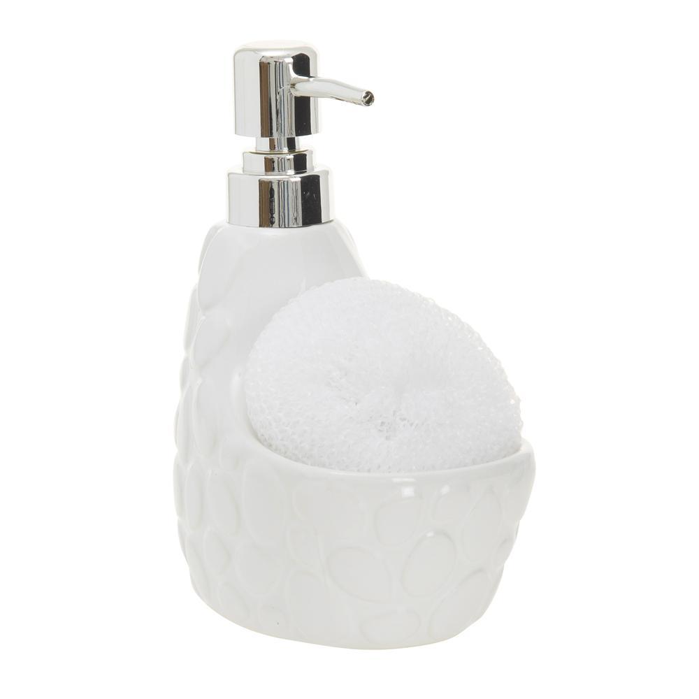 Ün - Ev Çakıl Taşı Desenli Sıvı Sabunluk