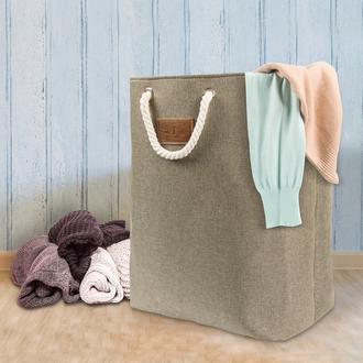 Tvl Home Katlanabilir Çok Amaçlı Çamaşır Sepeti-Kahve