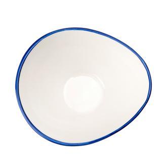 Tulu Porselen Pol15 Kase - Lacivert/15  cm