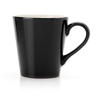 Tulu Porselen Ece Kupa - Siyah/230 ml