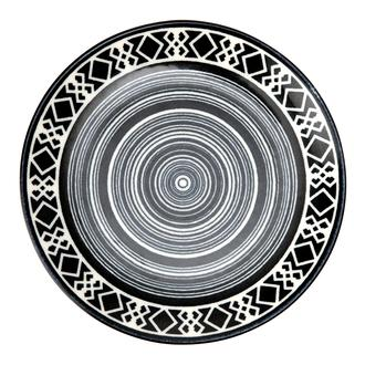 Tulu Porselen Etnik Tatlı Tabağı - 19 cm