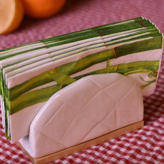 Bambum Porsela Peçetelik - 13 cm