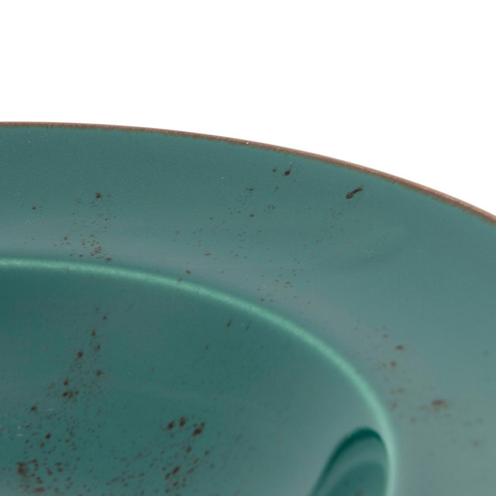 Marianna Makarna Tabağı - Yeşil / 28 cm