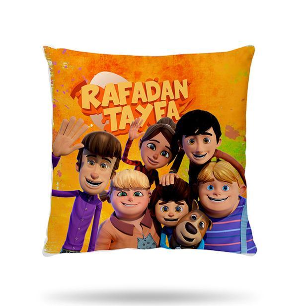 Hobby Rafadan Tayfa V4 Kırlent - 40x40 cm