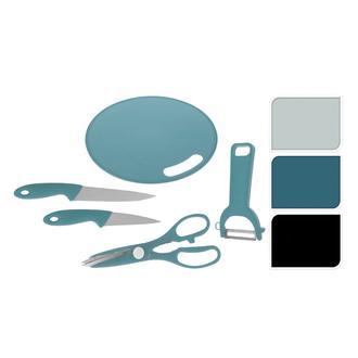 Excellent Houseware 5 Parça Bıçak Seti - Siyah