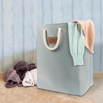 Tvl Home Katlanabilir Çok Amaçlı Çamaşır Sepeti-Mavi