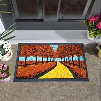 Giz Home İtalyan Format Kapı Önü Paspası Sonbahar - 40X68  cm