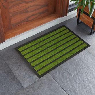 Giz Home Torino Kapı Önü Paspası Yeşil - 45X75 cm