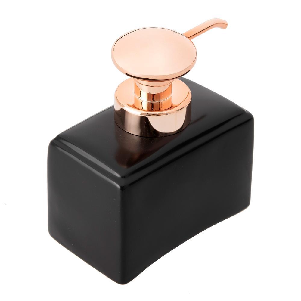 Arow Compo Porselen Sıvı Sabunluk - Siyah
