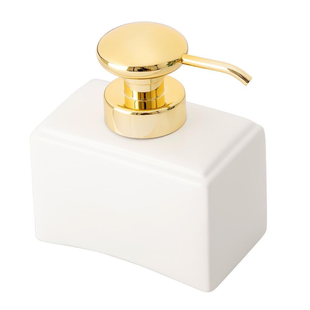 Arow Compo Porselen Sıvı Sabunluk - Beyaz