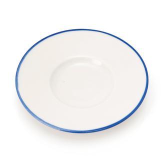 Tulu Porselen Heybeli Çay Tabağı - Blue/13 cm