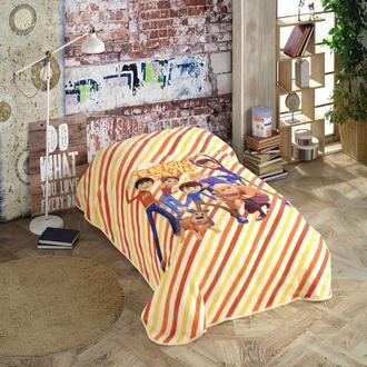 Hobby Rafadan Tayfa Çocuk Battaniyesi (Sarı) - 150x220 cm