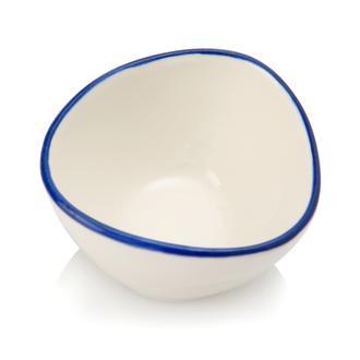 Tulu Porselen Mar07 Kase - Lacivert/7 cm