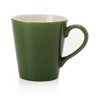 Tulu Porselen Ece Kupa - Yeşil/230 ml