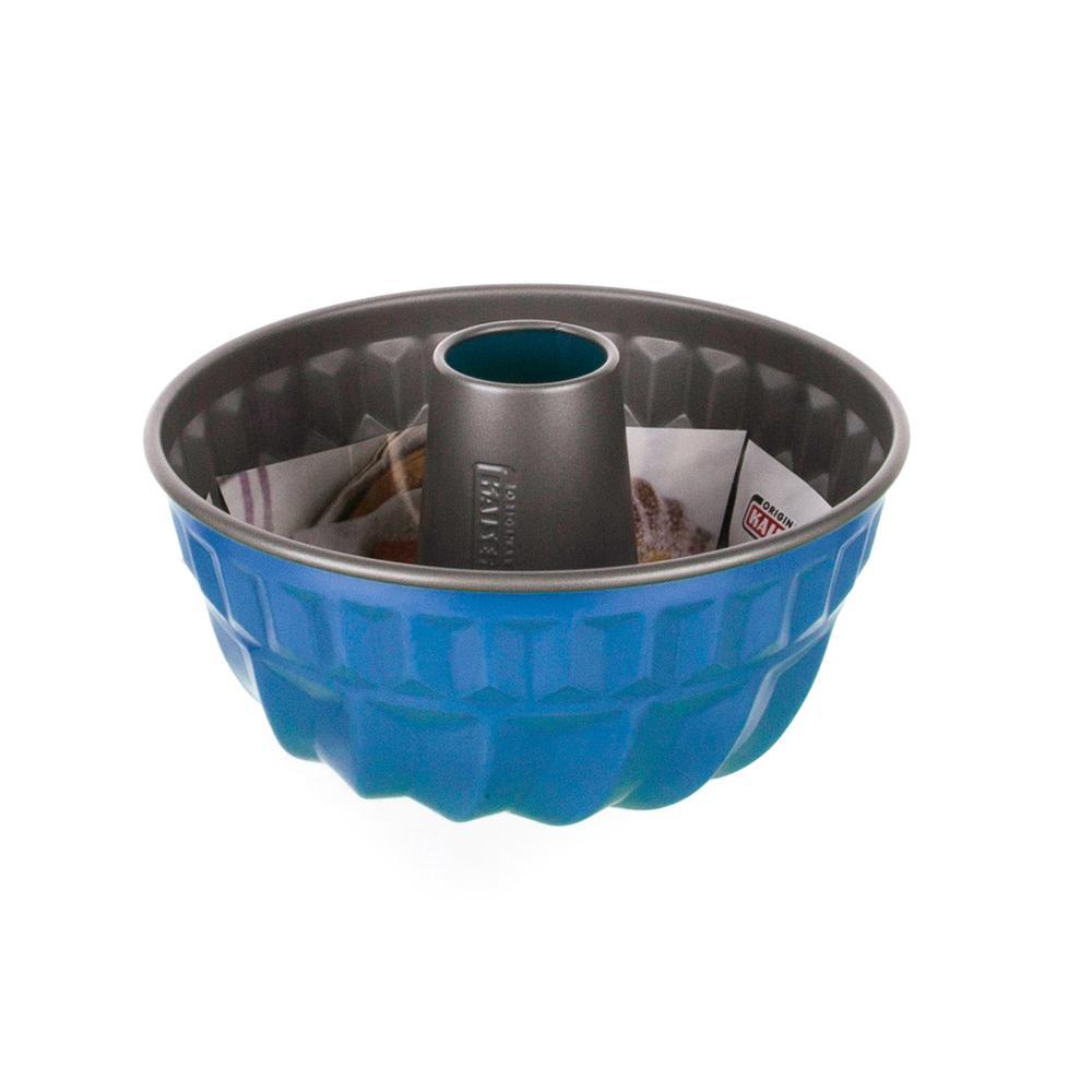 Kaiser Borulu Kek Kalıbı - Mavi - 22 cm