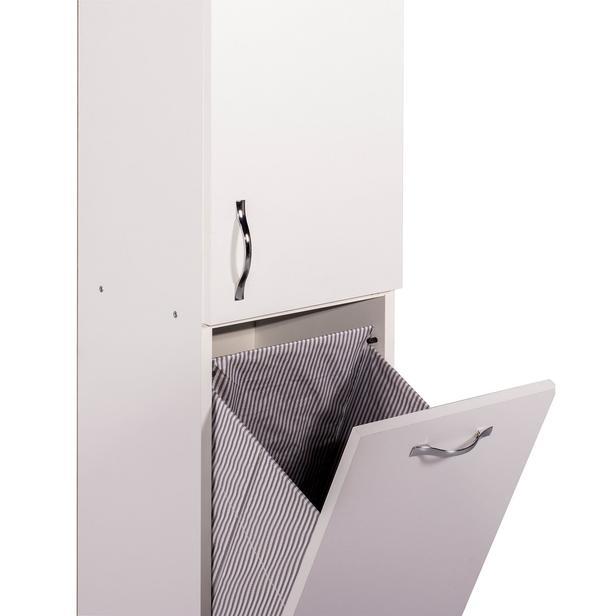 Ofisbazaar Nil Kirli Çamaşır Dolabı - Beyaz