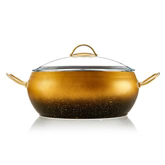 Essenso Ezme Granit Tencere - Gold/26 cm