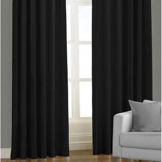 Garden Blackout Perde - Siyah - 140x270 cm