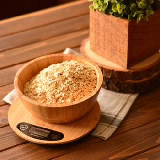 Bambum Flippo Dijital Bambu Yuvarlak Mutfak Tartısı - 5 kg