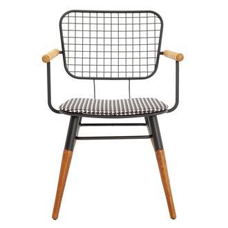Asf Moura Kollu Sandalye - Kazayağı