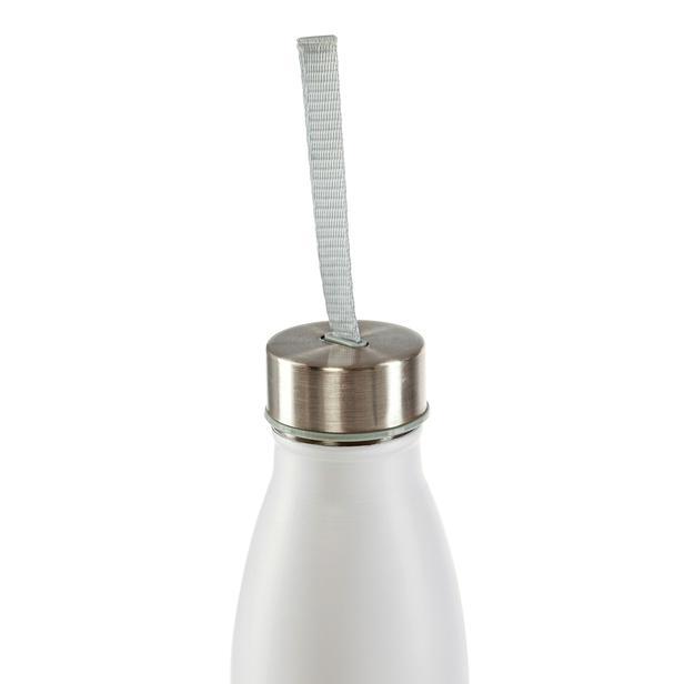 Tohana Çelik Matara - Beyaz/750 ml