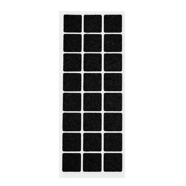 Flamme Mobilya Zemin Koruyucu Keçe - 2x2 cm - Asorti