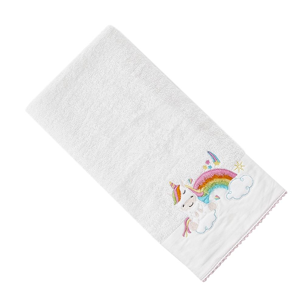 Nuvomon Baby Unicorn Çocuk Havlusu - 50x70 cm