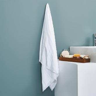 Altınbaşak Calvina Banyo Havlusu (Beyaz) - 70x140 cm