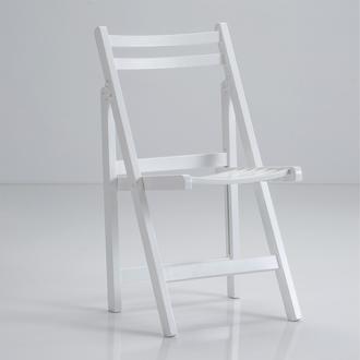 Just Home Kanyon Katlanır Sandalye - Beyaz