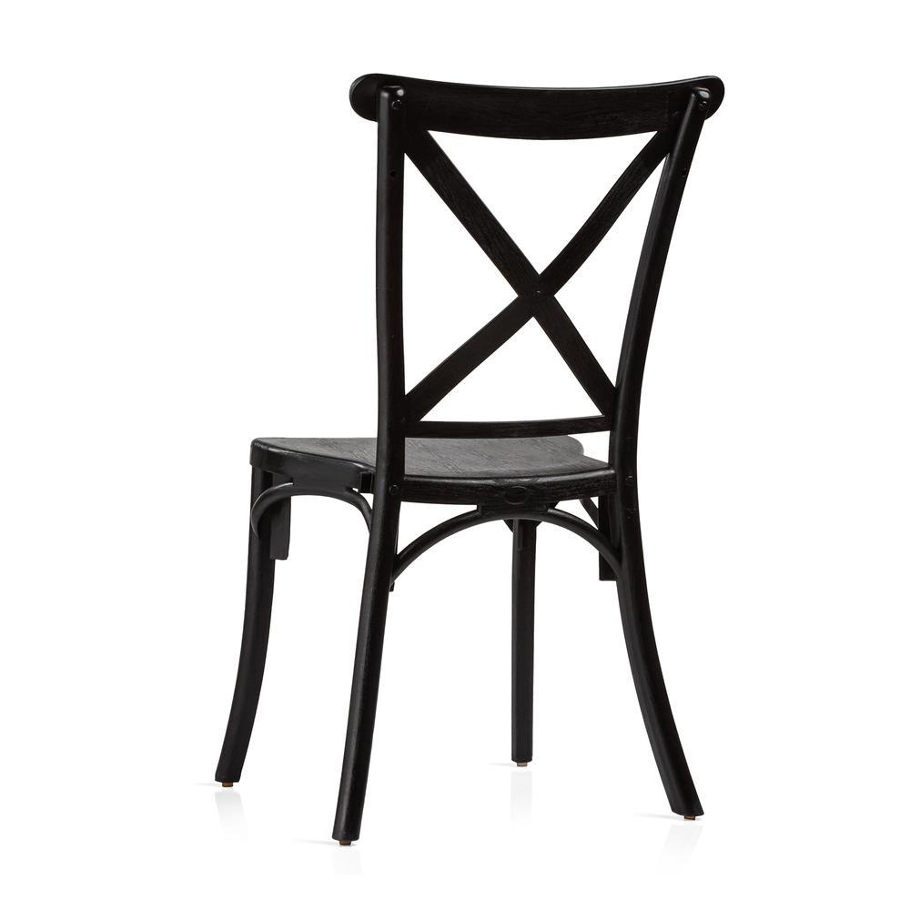 Just Home Cross Sandalye - Siyah