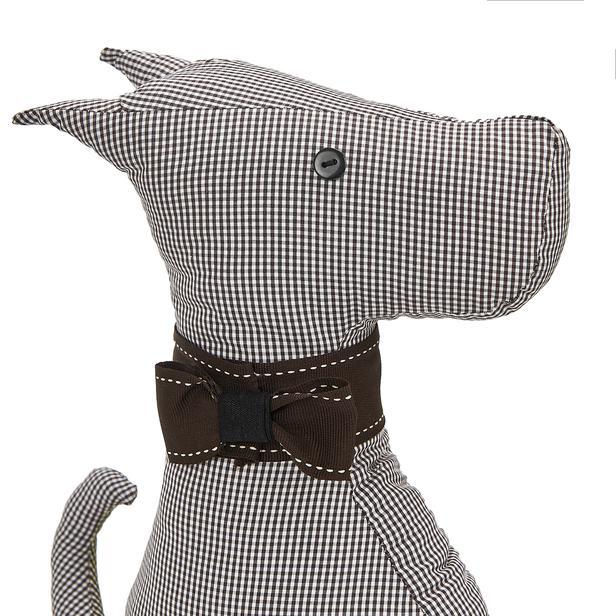 La Bonisa Köpek Figürlü Kapı Durdurucu - Gri