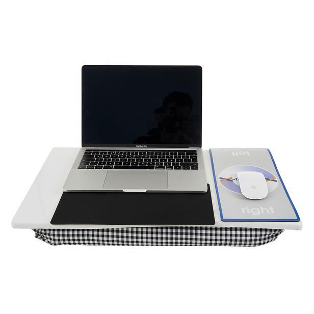 X-Tray Ergonomik ve Minderli Laptop Masası – Beyaz