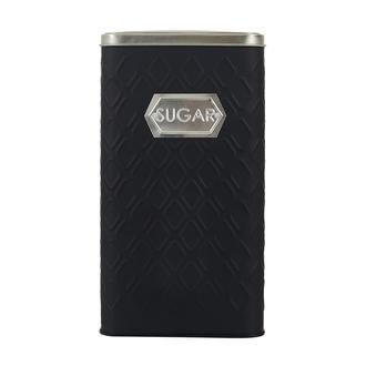 Sembol Metal Kavanoz - Siyah/Gümüş- 1500 ml - Asorti