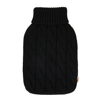 The Company Çoklu Saç Örgülü Triko Sıcak Su Torbası Kılıfı - Siyah