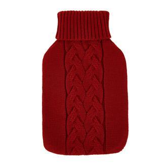 The Company Saç Örgülü Triko Sıcak Su Torbası Kılıfı - Kırmızı