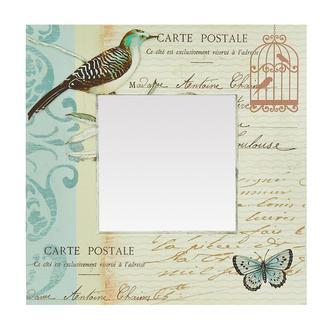 Giz Home Carte Postale Kanvas Ayna