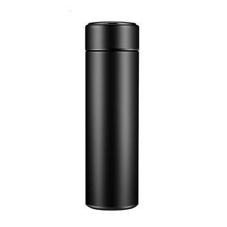 Bood Led Sıcaklık Göstergeli Akıllı Termos - Siyah/500 ml