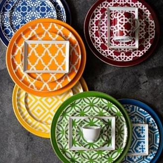 Porland Morocco 18 Parça Sunum ve Kahvaltı Seti