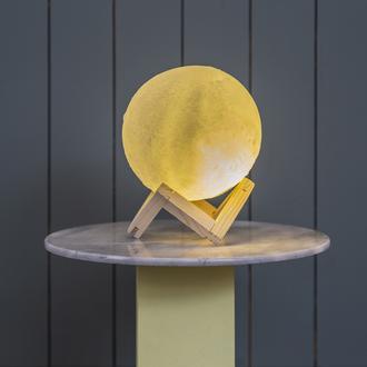 Petrix Moon 3D Dekoratif Led Aydınlatma