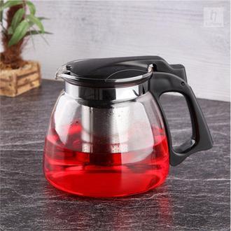Tohana Bitki Çayı Demliği - Siyah /900 ml.