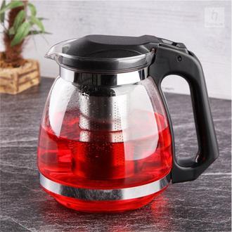 Tohana Bitki Çayı Demliği - Siyah /1500 ml.